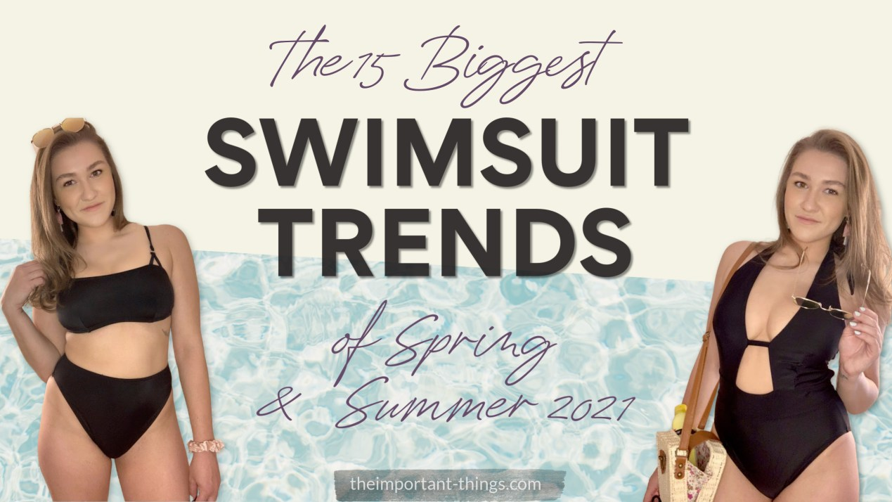 The 15 Biggest Swimsuit Trends of Spring & Summer 2021
